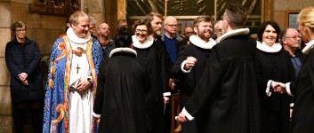 Ordination i Viborg Domkirke