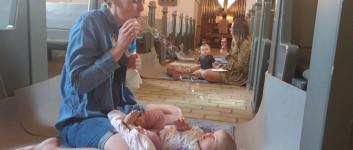 Babysalmesang i Sinding kirke