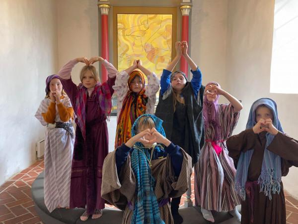 Minikonfirmandafslutning i Sinding kirke